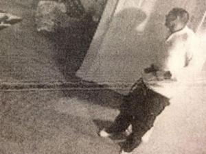 Hernandez Holding a gun