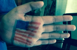 4th of July hand