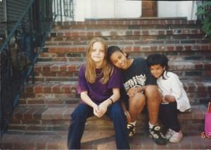 Solveig Tanisha and Alicia 06-28-95