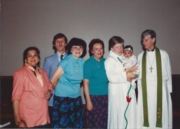 Alicia's Christening 1990