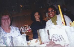 Felina Alicia and Nana Kangas Nov 1997