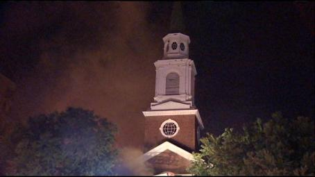 malden church fire