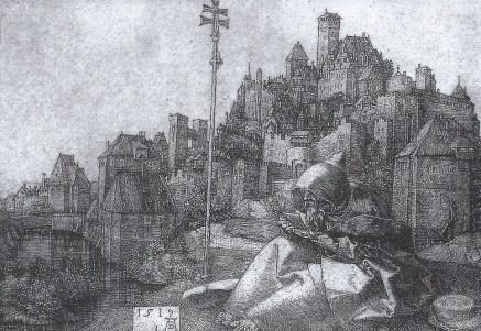 st anthony of egypt by albrect durer 1519