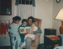 Jenna David and John Carrigg with Tanisha 12-1989