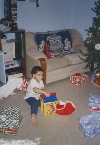 Seth Christmas 1995