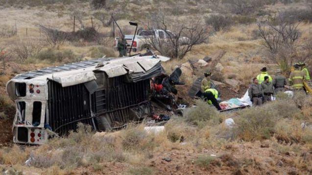 prison bus crash
