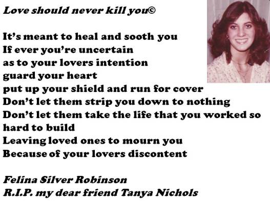 love should never kill you