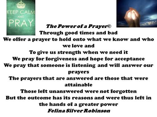 The Power of a prayer