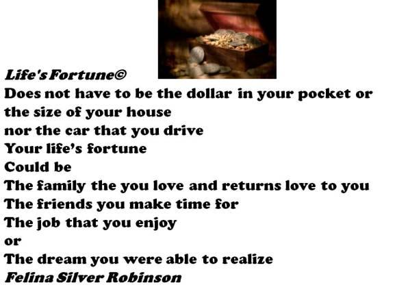 life's treasure