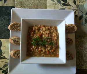 Navy Bean Soup - Completed
