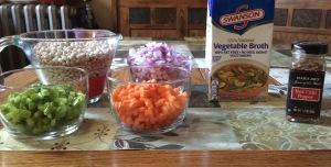 Navy Bean Soup Ingredients