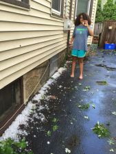 lea with hail