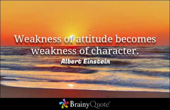 einstein-weakness-of-attitude